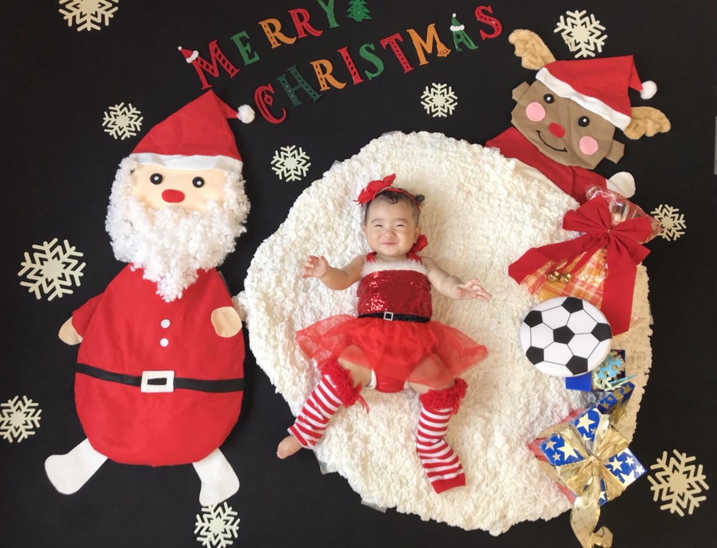 おひるねアート クリスマス サンタ トナカイ クリスマスプレゼント ほっこりーの 北とぴあ
