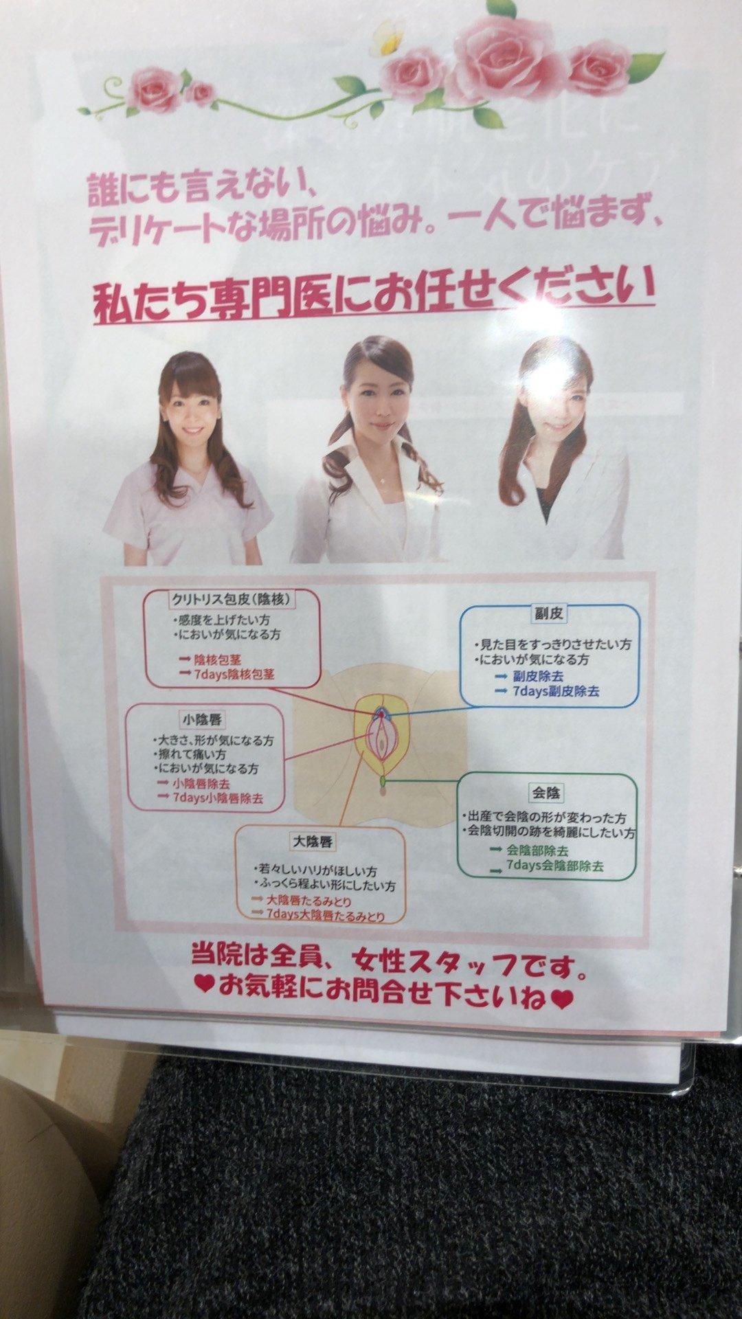 女性器 コンプレックス クリニック