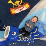 おひるねアート こどもの日 鯉のぼり 僕のおひるねアート 茨城 イオンモール土浦